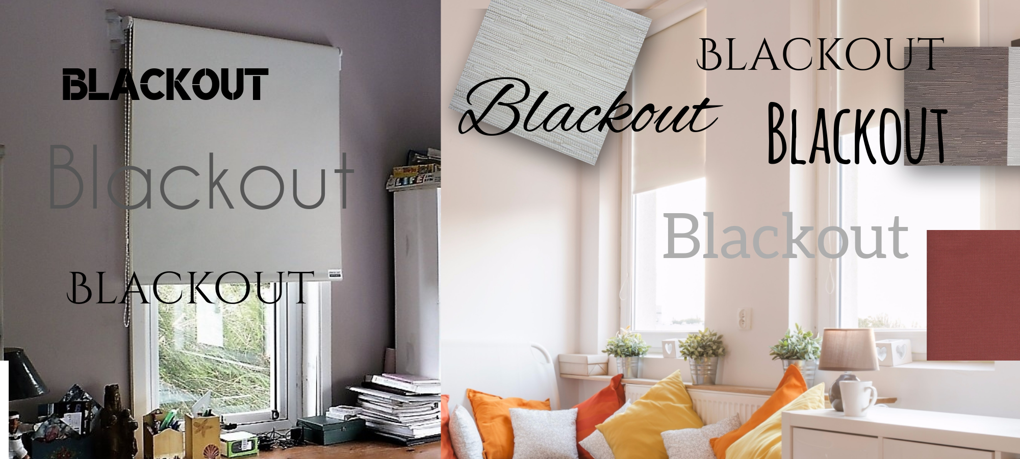 CORTINAS BLACKOUT.  COMO LIMPIARLAS