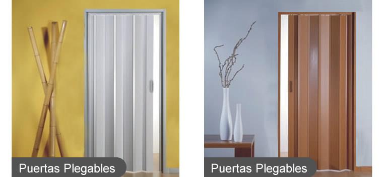 Puertas plegables y mamparas divisorias megasur for Precio de puertas plegables